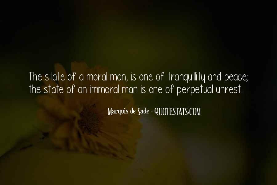 Quotes About Marquis De Sade #797294