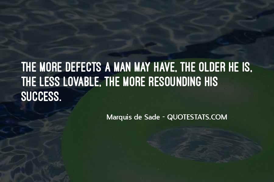 Quotes About Marquis De Sade #80280