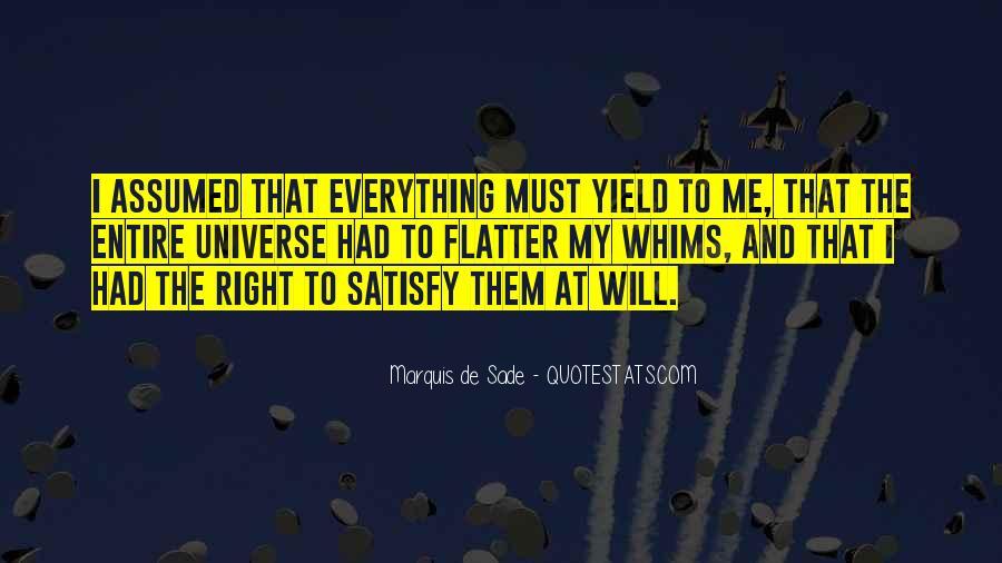 Quotes About Marquis De Sade #837877