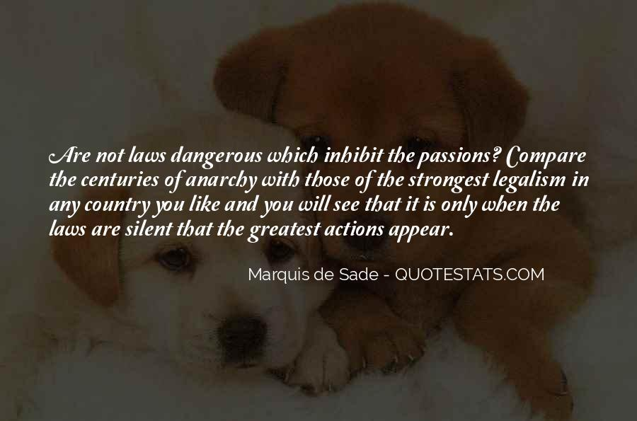 Quotes About Marquis De Sade #852798