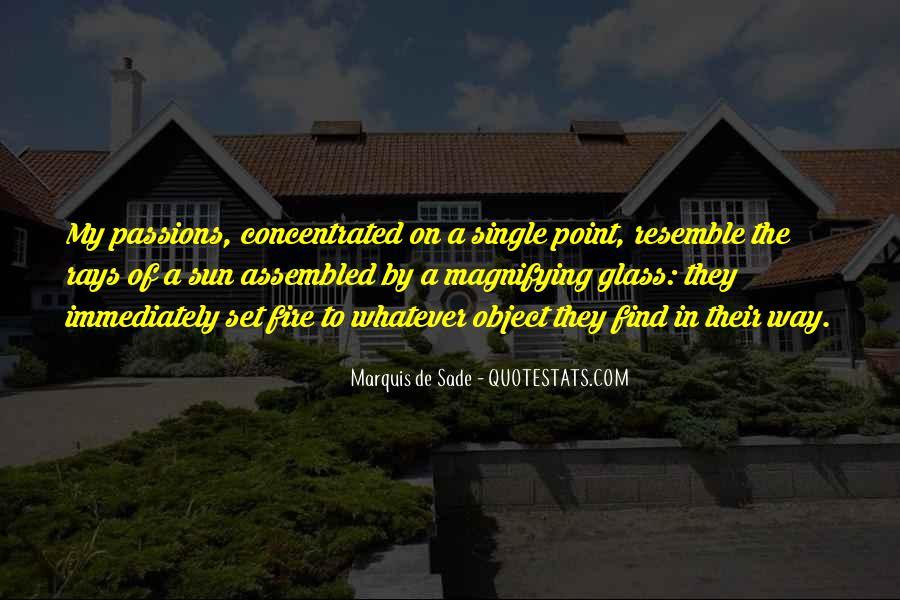 Quotes About Marquis De Sade #891539