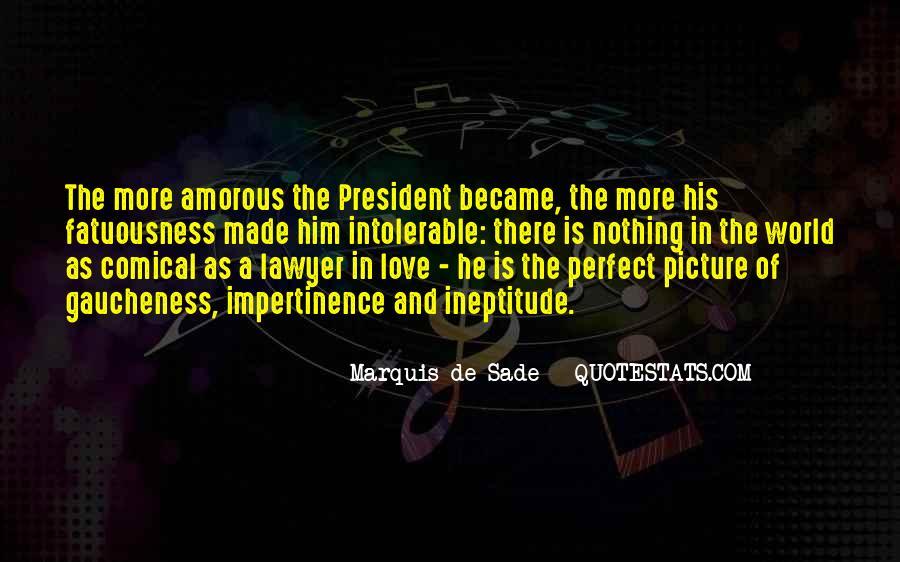 Quotes About Marquis De Sade #896929