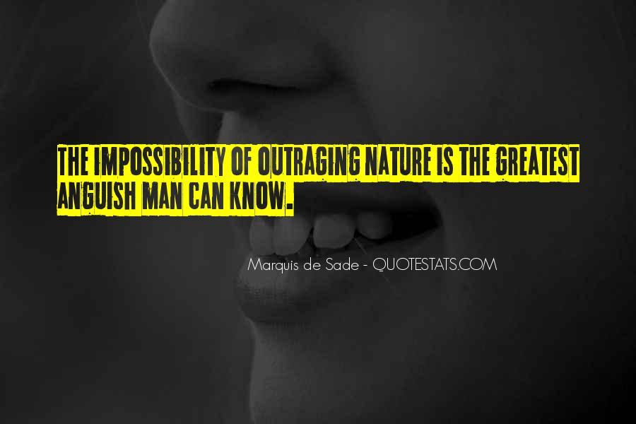 Quotes About Marquis De Sade #922869