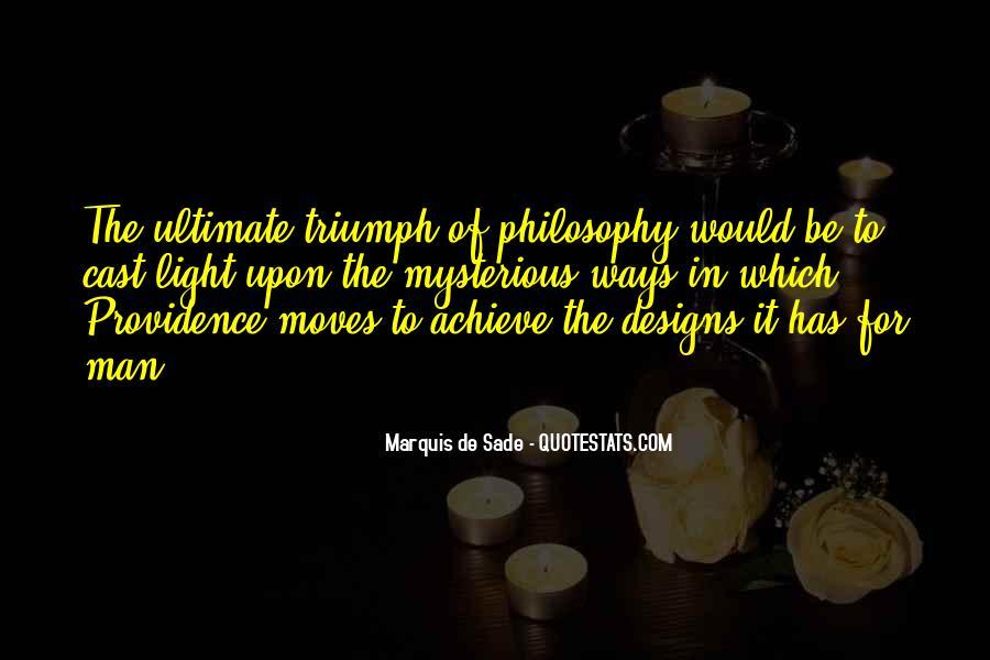 Quotes About Marquis De Sade #936209