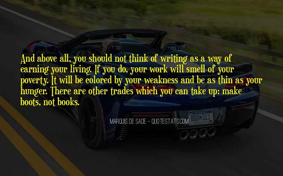 Quotes About Marquis De Sade #98835