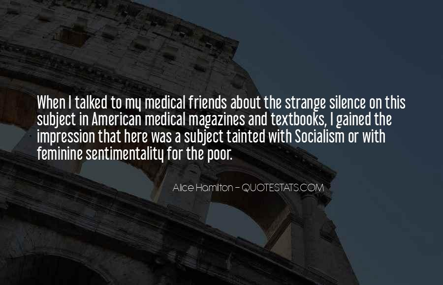 Silence And Friends Quotes #25288