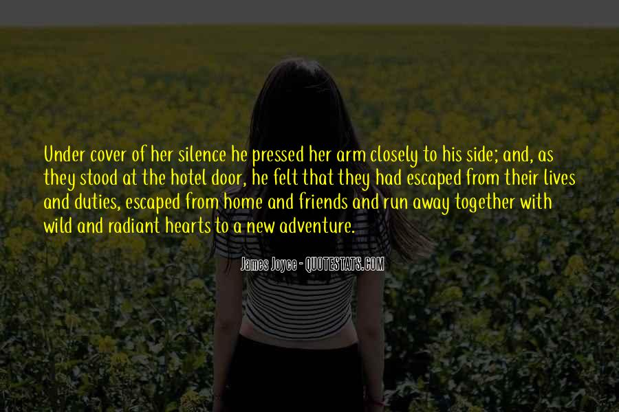 Silence And Friends Quotes #476231