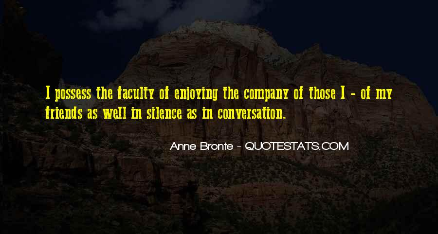 Silence And Friends Quotes #648799