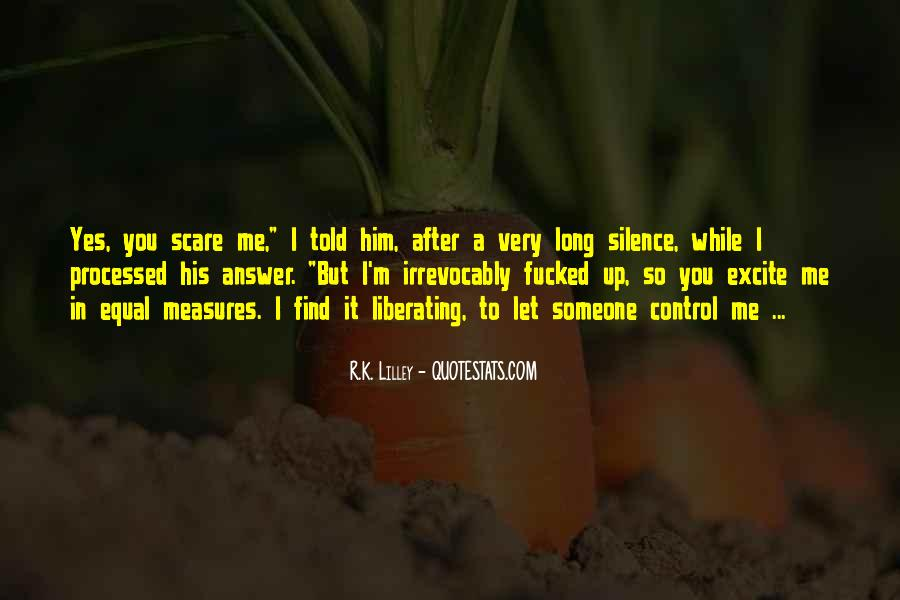 Silence Best Answer Quotes #162358