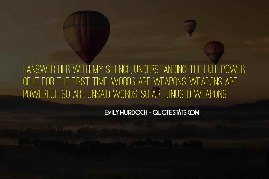 Silence Best Answer Quotes #264090