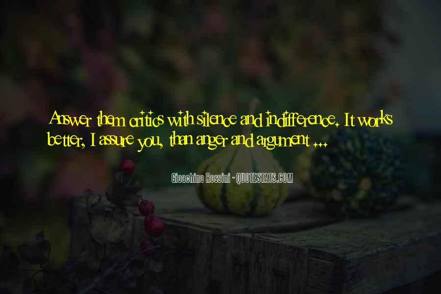 Silence Best Answer Quotes #554808