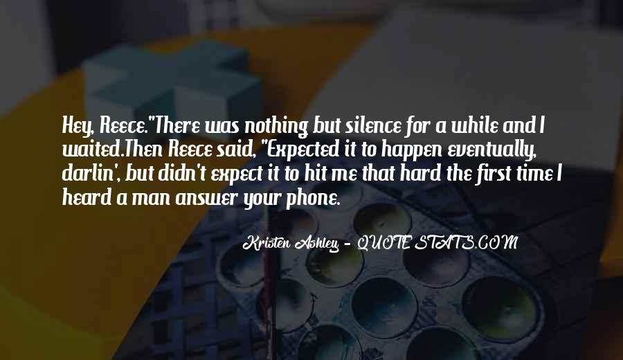 Silence Best Answer Quotes #633385