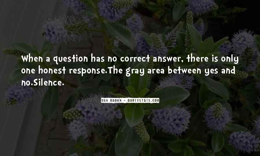 Silence Best Answer Quotes #702589