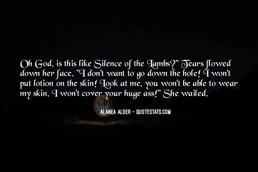 Silence Of Lambs Movie Quotes #1592338