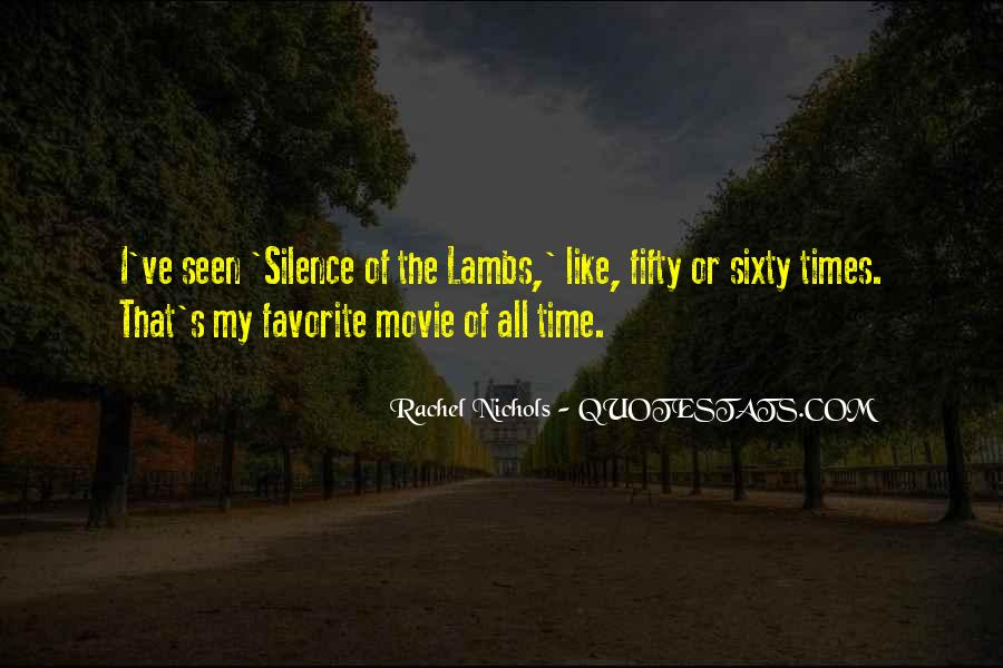 Silence Of Lambs Movie Quotes #42197