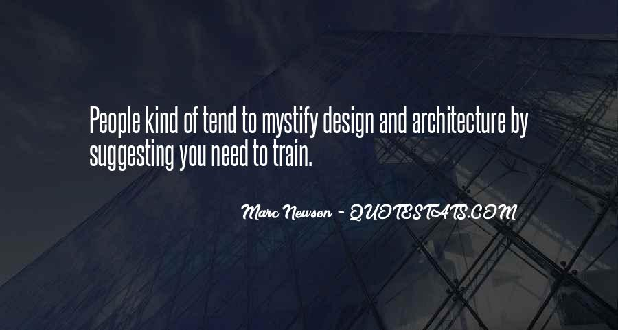 Quotes About Architecture And People #1326323