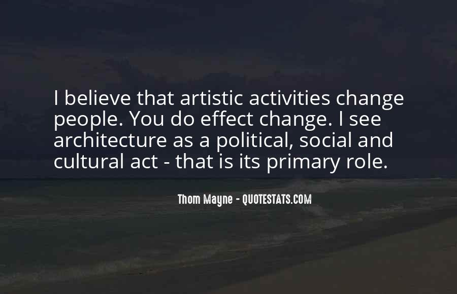 Quotes About Architecture And People #1541531