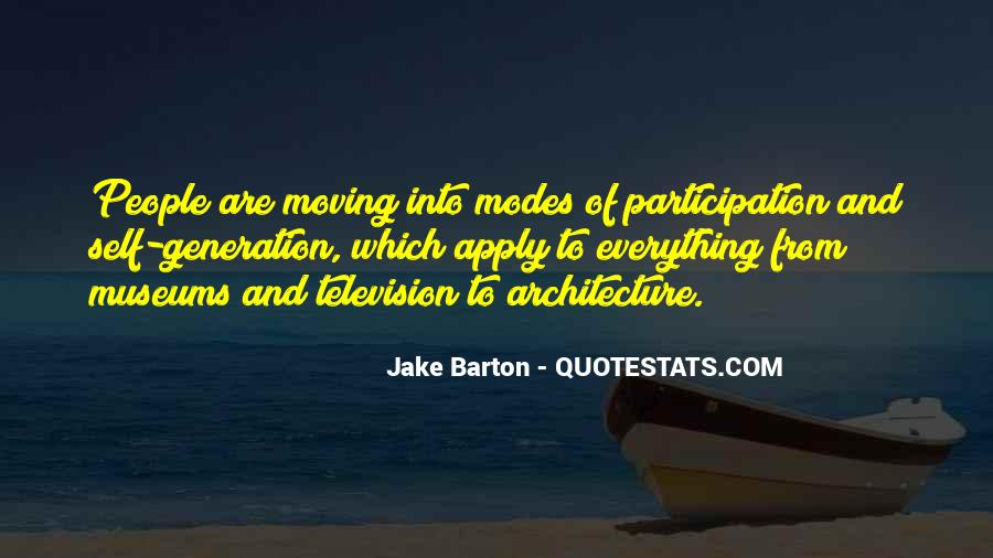 Quotes About Architecture And People #1591626