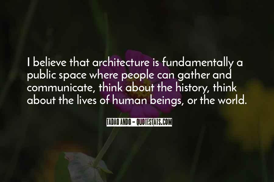 Quotes About Architecture And People #1612743