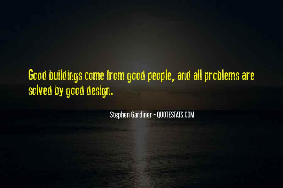 Quotes About Architecture And People #482912