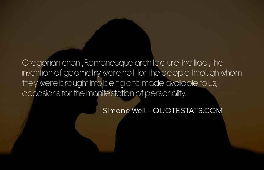 Quotes About Architecture And People #784369