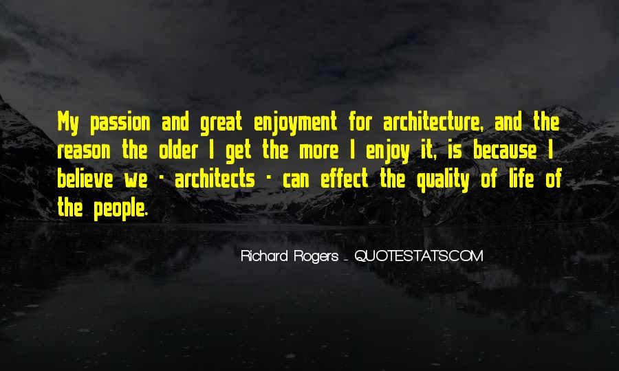 Quotes About Architecture And People #86606