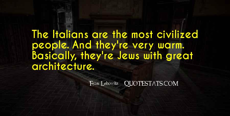 Quotes About Architecture And People #881610