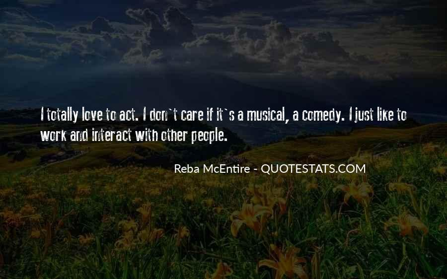 Quotes About Reba Mcentire #814367