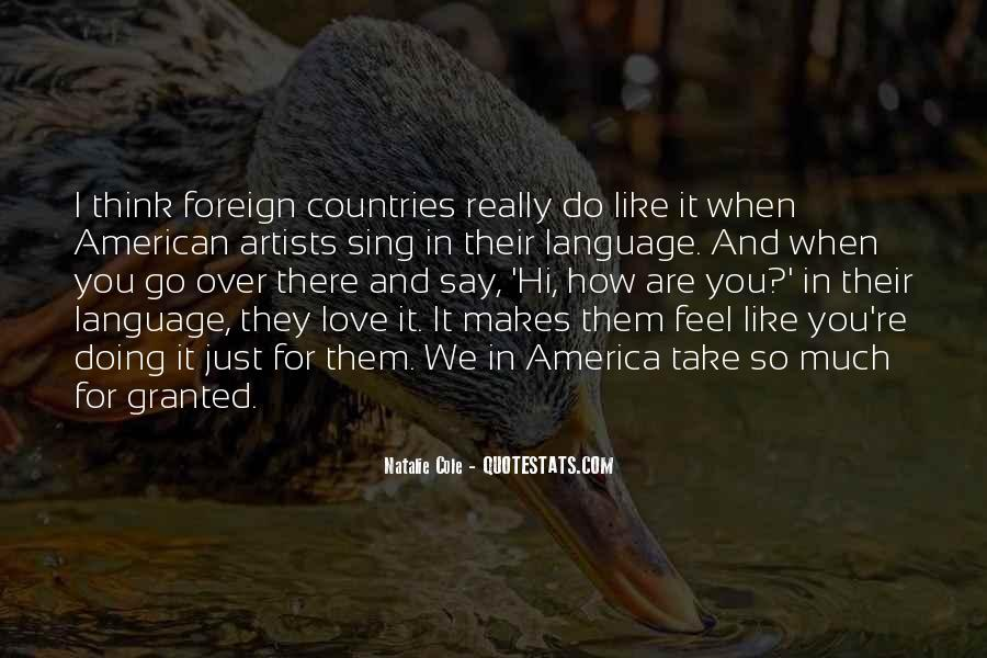 Quotes About America From Other Countries #867700