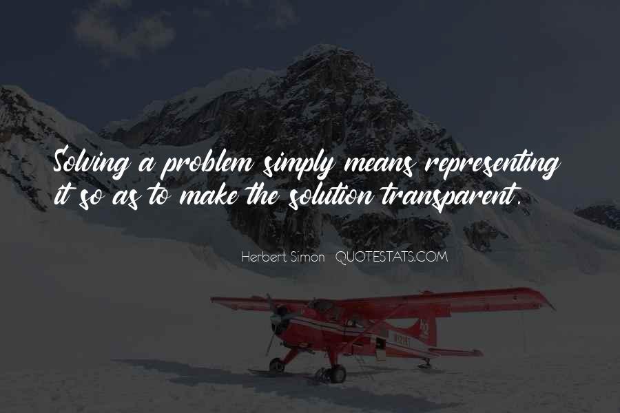 Simon Herbert Quotes #1304733