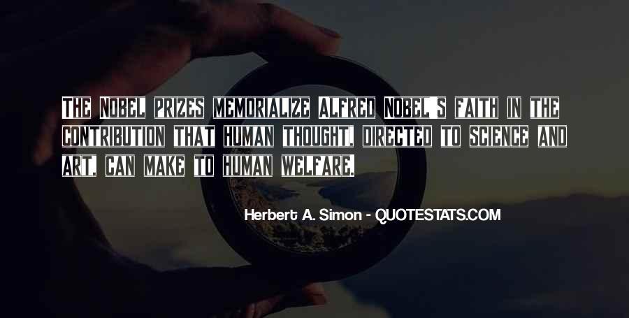 Simon Herbert Quotes #1419957