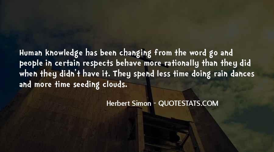Simon Herbert Quotes #1438285