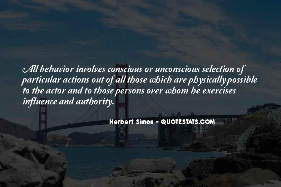 Simon Herbert Quotes #1564787