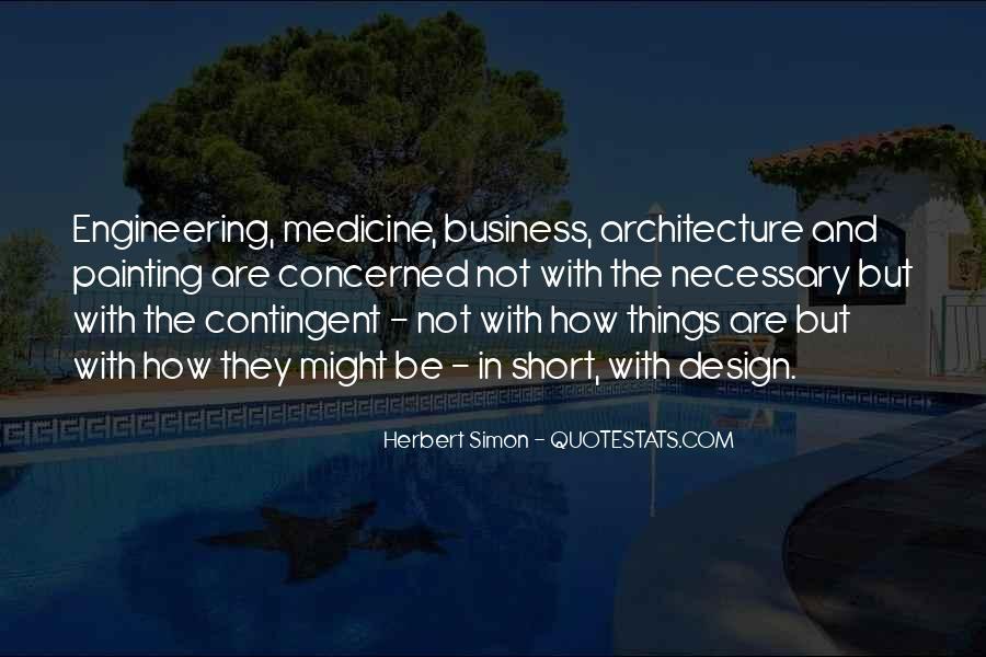 Simon Herbert Quotes #163927