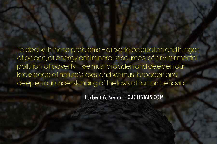 Simon Herbert Quotes #1707810