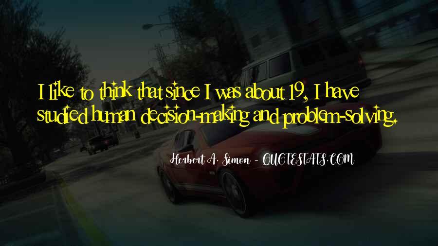 Simon Herbert Quotes #1724390