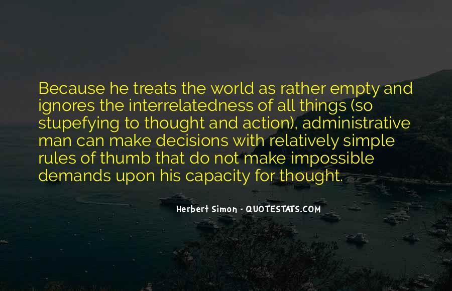 Simon Herbert Quotes #1840104