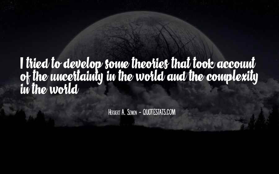 Simon Herbert Quotes #219077