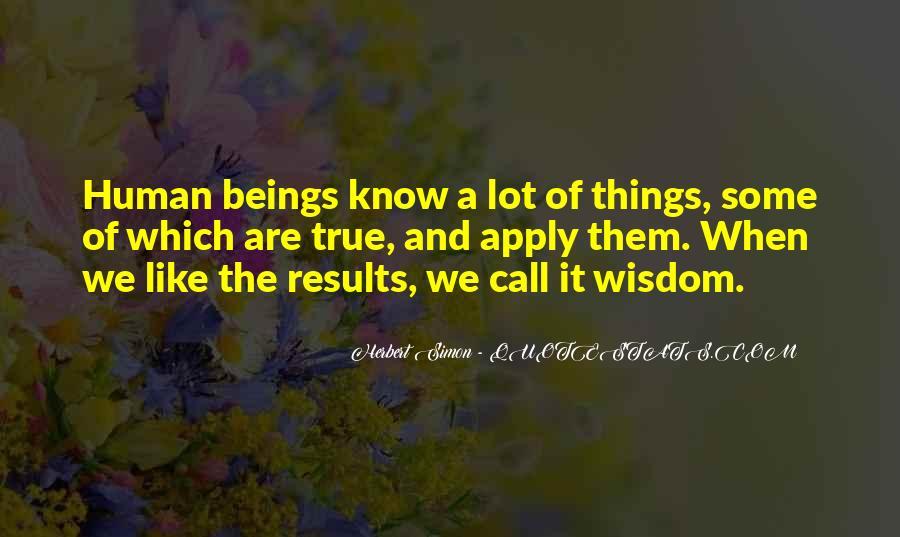 Simon Herbert Quotes #220780