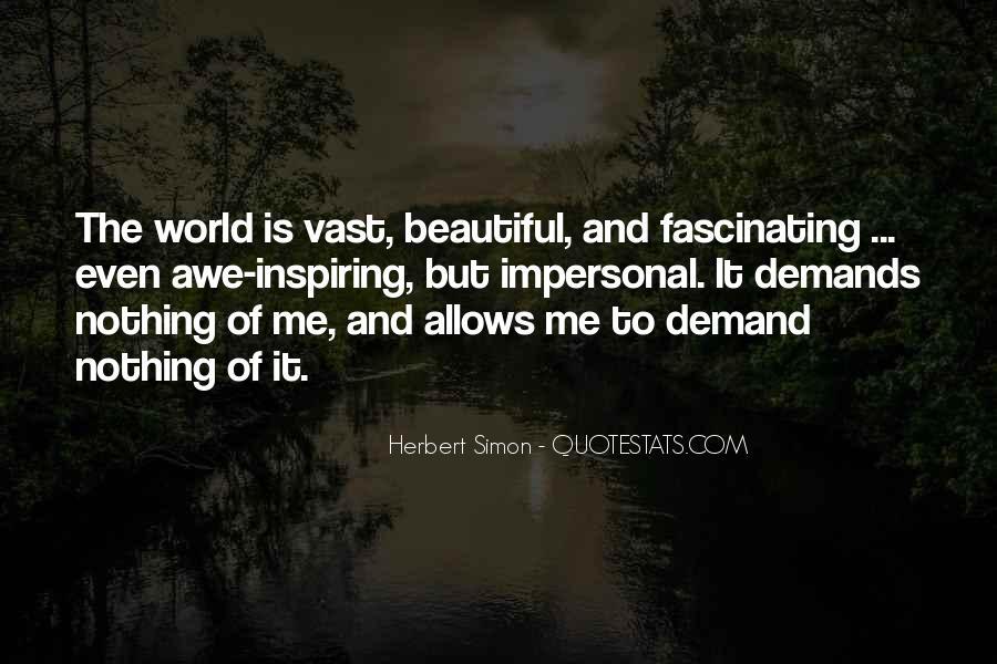 Simon Herbert Quotes #328675