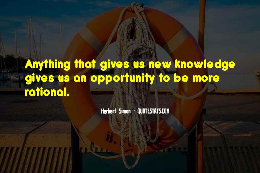 Simon Herbert Quotes #345764