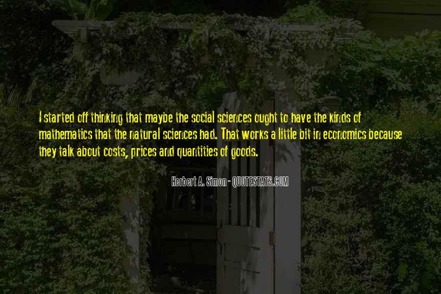Simon Herbert Quotes #355386