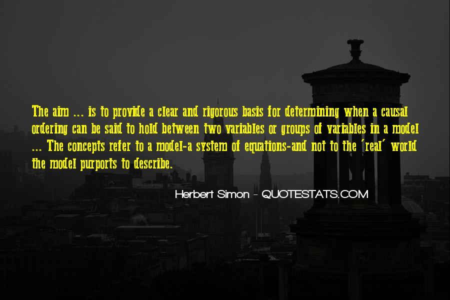 Simon Herbert Quotes #556546