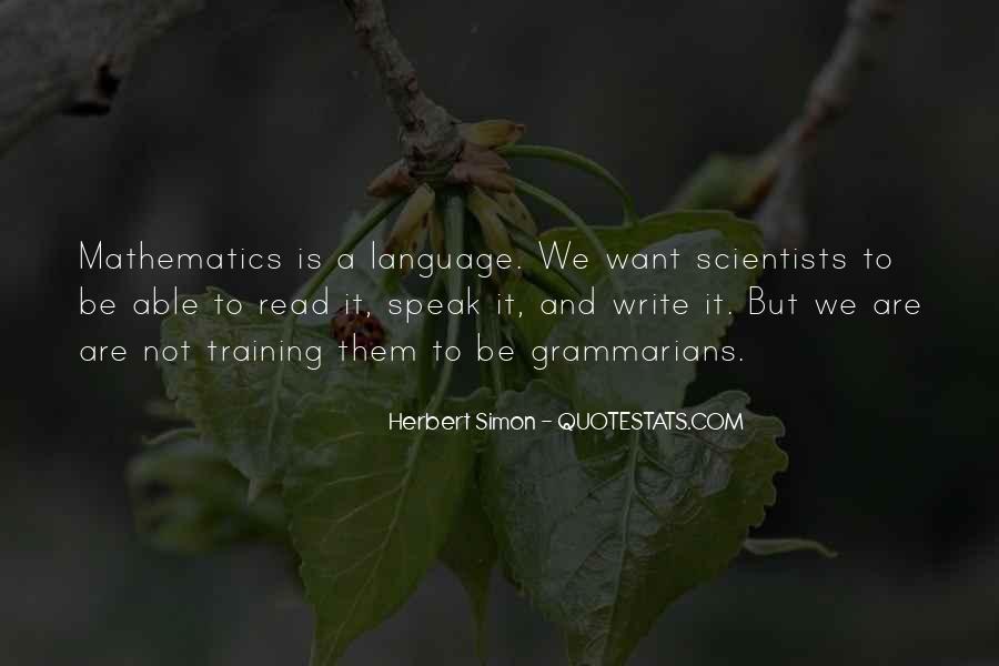 Simon Herbert Quotes #626775