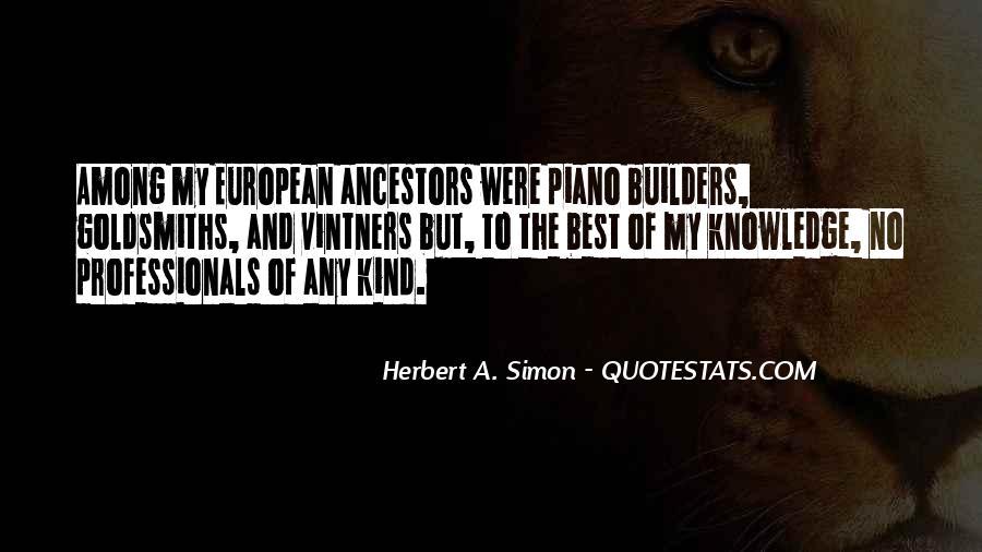 Simon Herbert Quotes #662841