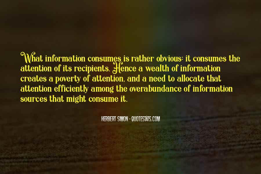 Simon Herbert Quotes #685812