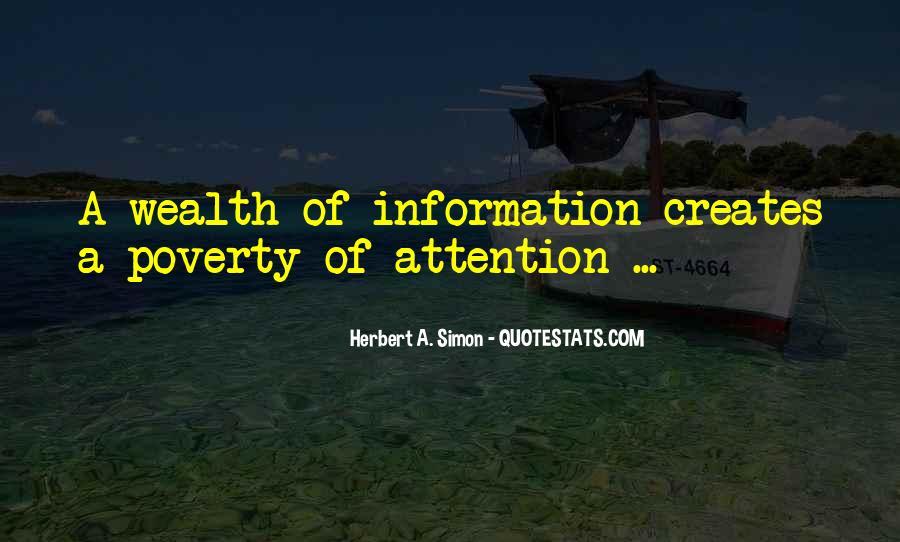 Simon Herbert Quotes #756424