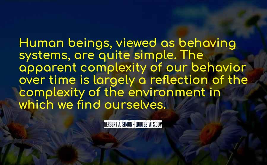 Simon Herbert Quotes #967484