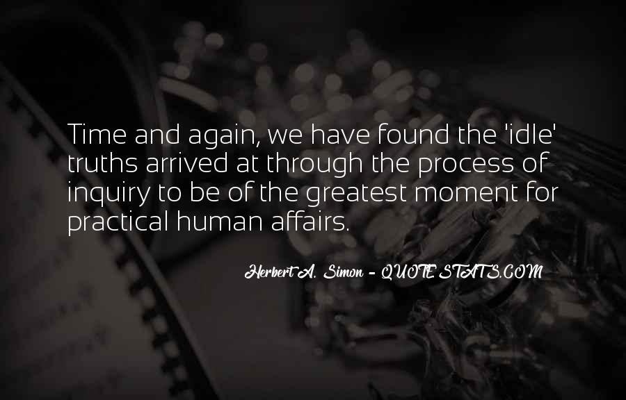 Simon Herbert Quotes #98605