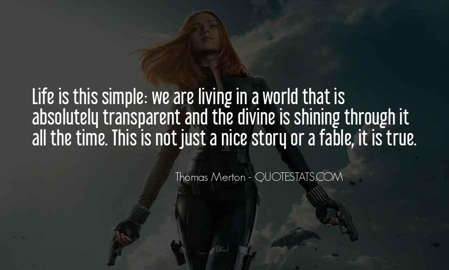 Simple And Nice Quotes #1133515